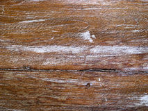 Old wood pattern. Brown color of old wood pattern Stock Photography