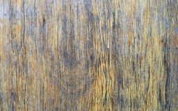 Old wood peeled cracked brown yellow texture Royalty Free Stock Photography