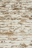 Old Wood with Peeling Antique White Paint. Showing cracking, distress, knots and grain Royalty Free Stock Photos
