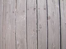 Old wood pickets without maintenance Stock Photography