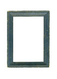 Old wood picture frame Stock Images