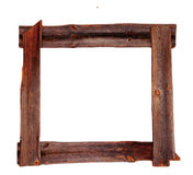 Old wood picture frames brown Stock Images