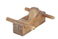 Old wood plane Royalty Free Stock Photography
