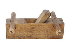 Old wood plane Royalty Free Stock Image