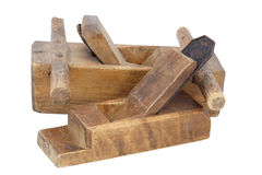 Old wood planes Royalty Free Stock Image