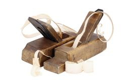 Old wood planes Royalty Free Stock Images