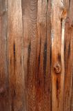 Old wood plank. Rust wall stock images