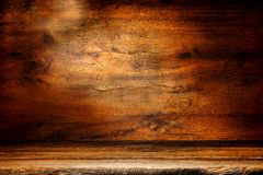 Old Wood Plank And Antique Board Grunge Background Royalty Free Stock Photography