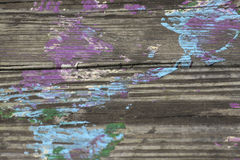 Old Wood Plank Background Stock Images