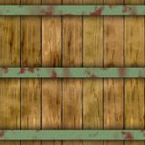 Old wood plank barrel wood plank seamless pattern texture background Royalty Free Stock Photo