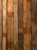 Old wood plank texture. Assembled vertically Stock Image