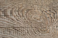 Old Wood Plank Texture on Dimmed Sun royalty free stock image