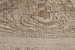 Old Wood Plank Texture on Dimmed Sun stock image