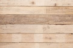 Old wood plank wall background, Old wooden uneven texture pattern background. For background stock photo