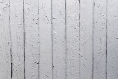 Old wood plank wall background painted with grey colour weathered with natural patterns. Closeup royalty free stock images