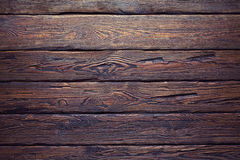 Old wood plank wall background Royalty Free Stock Images