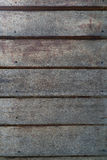 Old wood plank wall. Close up of old brown wood plank wall with nails Stock Image