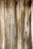 Old Wood Planks. Of a boat dock with an extinguished smoking match royalty free stock photo