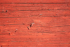 Old wood planks with a rust red brown  background Royalty Free Stock Photos