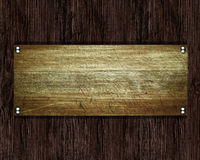 Old wood plate or texture Stock Photo