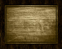 Old wood plate or texture Stock Images