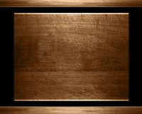 Old wood plate or texture Royalty Free Stock Image