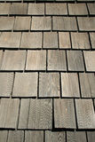 Old wood roof Royalty Free Stock Photos
