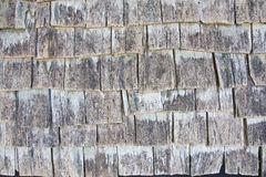 Old wood roof Royalty Free Stock Photography