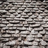 Old wood roof background. Stock Photography
