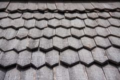 Old wood roof Royalty Free Stock Image