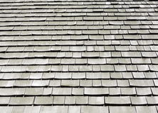 Old wood roof Stock Images