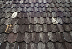 Old wood roof Stock Photos