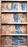 Old wood shelf Stock Photography