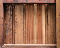 Old wood shelves background. Retro design Stock Photos