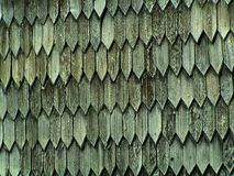 Old wood shingles background Royalty Free Stock Image