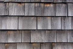 Old wood shingles closeup Stock Photography