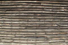 Old wood siding Stock Image