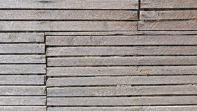 Old wood slat wall background Royalty Free Stock Images