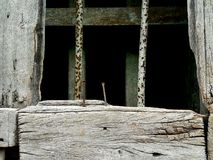 Old wood and steel texture. Old wood and old steel texture Royalty Free Stock Image