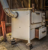 Old wood stove Stock Photos