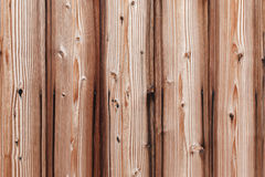Old Wood Striped on Surface Wall Background and Texture. Background image from planks in natural wood with pronounced structure of the wood Stock Photography