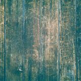 Old wood structure in brown, blue and turquoise background royalty free stock photography