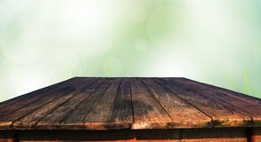 Old wood table stock images