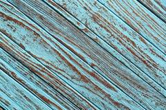 Old wood teak blue background texture wallpaper Royalty Free Stock Photos