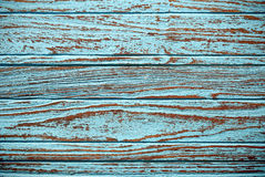 Old wood teak blue background texture wallpaper Stock Images