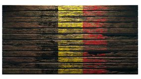 Old wood texture background apocalypse. Flag of belgium old wood texture background apocalypse 3d render stock photos