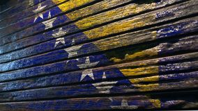 Old wood texture background apocalypse stock illustration