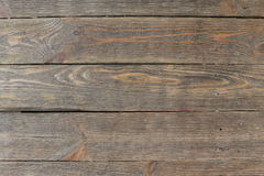 Old Wood Texture Background, Brown Grained Wooden Pattern. Wood panel background. Rustic wooden surface, table top view. Grunge background. Wood texture Stock Image