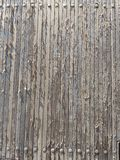 Old wood texture background is chic. stock image