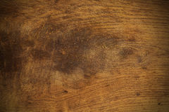 Old wood texture background furrowed with knife Royalty Free Stock Photography